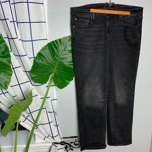 American Eagle Black Original Straight Jeans